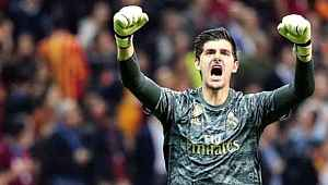 Real Madrid'in kalecisi Courtois: