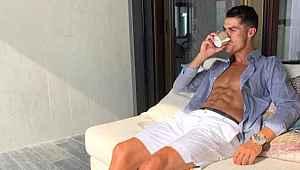 Ronaldo'nun karantinaya girdiği villası görenleri hayran bıraktı