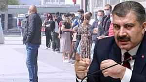 Sağlık Bakanı Fahrettin Koca, AVM'lerde oluşan kalabalığı eleştirdi!