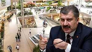 Sağlık Bakanı Fahrettin Koca, AVM'li koronavirüs paylaşımı ile ikaz etti: 'Riski görün'