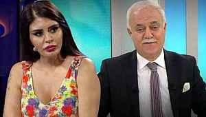 Şarkıcı Ebru Polat, Nihat Hatipoğlu'nun programına video göndererek soru sordu