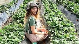 Şehirden kaçıp köyüne yerleşen genç kadın, organik tarım hayalini gerçekleştirdi