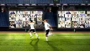 Seyircisiz maçlarda sanal tribün uygulaması kullanacaklar