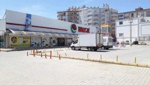 Siirt'te çalışanların bir bölümünün korona virüs testi pozitif çıkan market kapatıldı