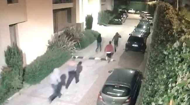 Silahlı saldırganların kaçış anları kameralara yansıdı - Bursa Haberleri