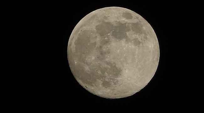 Süper Ay Mersin'de görüntülendi