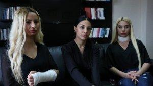 Trafikte sopalı saldırıya uğrayan kadınlar konuştu: