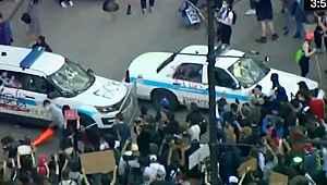 Trump'ın göz dağı verdiği gösteriler gerilimi arttırıyor! George Floyd protestoları ABD geneline yayılıyor!