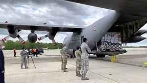 Türkiye'nin 2. tıbbi yardım uçağı ABD'ye ulaştı