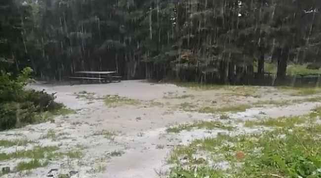 Uludağ'a mayıs ayında kar yağmaya devam ediyor - Bursa Haberleri