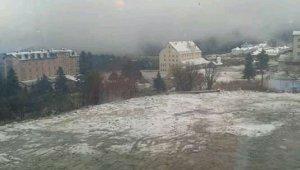 Uludağ'a mayıs karı - Bursa Haberleri
