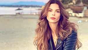 Ünlü model Larissa Gacemer,