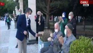 Yıldırım'da yaşlılara destek Ramazan Bayramı'nda da devam etti - Bursa Haberleri