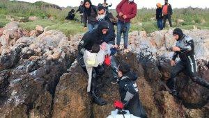 Yunanların ölüme terk ettiği göçmenleri Türk Sahil Güvenlik ekibi kurtardı