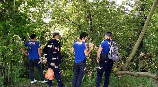3 gündür kayıp olan yaşlı adamın cesedi ormanda bulundu
