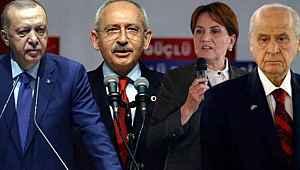 30 büyükşehiri kapsayan seçim anketi... İşte partilerin son oy oranı