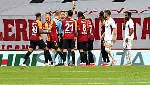 90+4'teki VAR kararı, Galatasaray-G.Antep maçına damga vurdu