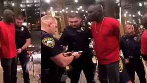 ABD polisi şok oldu... Önce tutukladılar, Adam FBI ajanı çıkınca kimliklerini teslim ettiler