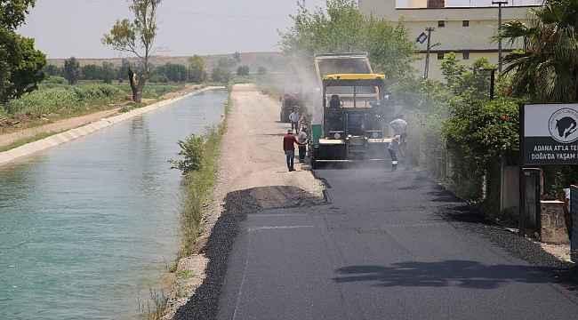 Adana'da asfaltsız yol kalmayacak