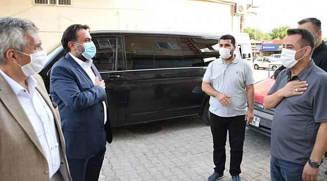 AK Parti MKYK üyesi ve Balıkesir Milletvekili Yavuz Subaşı Edremit'te
