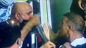 Alanyaspor - Trabzonspor maçının ardından yöneticiler birbirine girdi