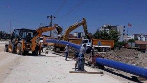 Altınşehir Mahallesinde altyapı çalışması