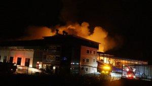 Antalya'da soğuk hava deposundaki yangın kontrol altına alındı