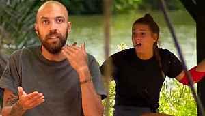Aşk iddialarıyla gündeme gelen Sercan ve Nisa dokunulmazlık oyununda birbirine girdi