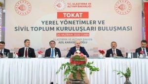 """Bakan Karaismailoğlu: """"Ülkemizde hiçbir iş durmadı"""""""