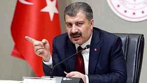 Bakan Koca; Adana, Ankara ve Kocaeli'de yoğun bakımda tedavi gören vaka sayısını paylaştı