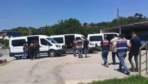 Balıkesir'de terör örgütü operasyonu