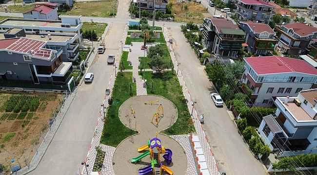 Barbaros Parkı çocuklar ve aileler için hazır