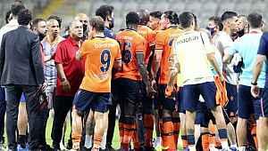 Başakşehir - Galatasaray maçının ardından iki takım tartıştı
