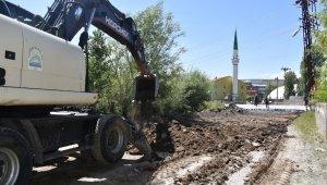 """Başkan Geylani: """"Yol yenileme çalışmalarına başladık"""""""