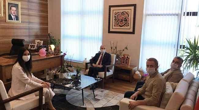 Başkan Özlü, Ankara'da siyasetin önemli isimleri ile bir araya geldi