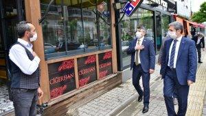 Başkan Yılmaz'dan yeniden kepenk açan esnafa ziyaret - Bursa Haberleri