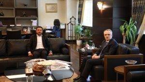 Belediye Başkanı Arı, Cumhurbaşkanlığı Strateji ve Bütçe Başkanı Ağbal'ı ziyaret etti