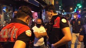 Beşiktaş'ta kafe ve barlara 'yeni normal' denetimi