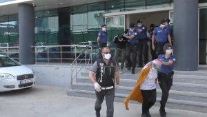 Bin polisin katıldığı uyuşturucu operasyonunda gözaltına alınan 18 kişi adliyede - Bursa Haberleri