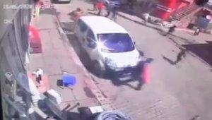 Bingöl'de 5.6'lık deprem anı kameraya böyle yansıdı