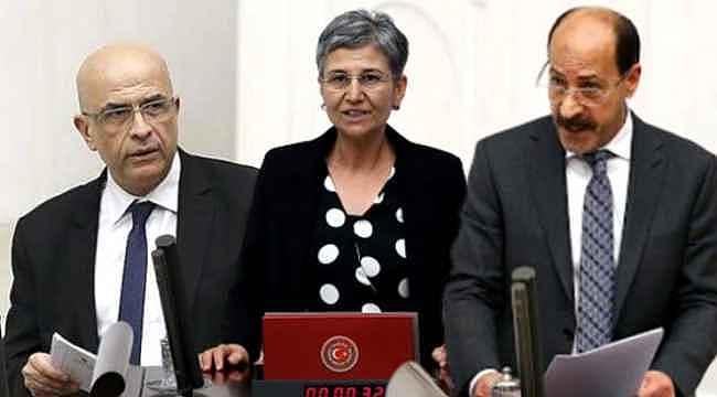 Bir CHP'li ve iki HDP'li ismin vekilliğinin düşürülmesine AK Parti'den ilk yorum