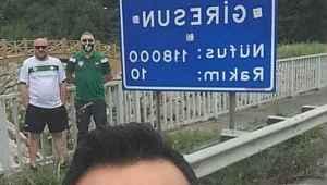 bu taraftar için kazanın... Giremeyecekleri maç için 940 kilometre yol gittiler - Bursa Haberleri
