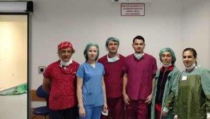 Burdur'da bir can, üç hastaya umut oldu