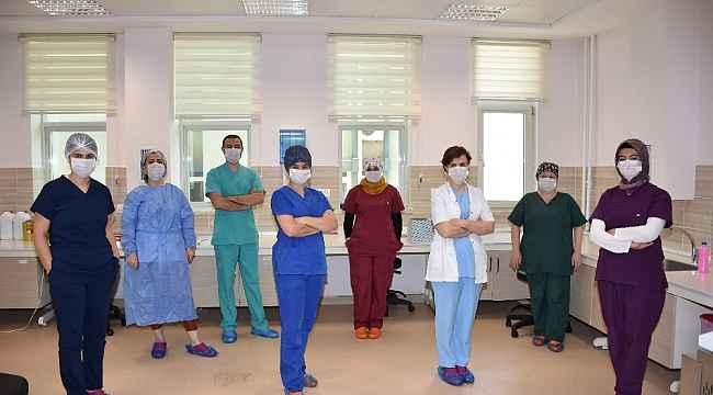 Burdur'da korona virüs testi yapılmaya başlandı