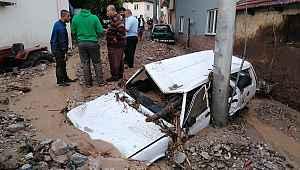 Bursa'da sel felaketinin bilançosu ortaya çıkıyor! Engelli genç kız hayatını kaybetti! Dudaklı Köyü (Mahallesi) büyük hasar gördü