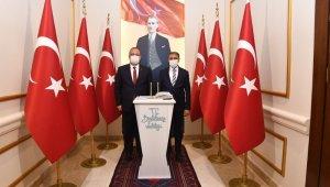 Bursa Valisi Canbolat, Vali Şıldak'ı ziyaret etti