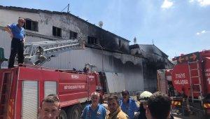 Bursa'da geri dönüşüm fabrikasında korkutan yangın - Bursa Haberleri