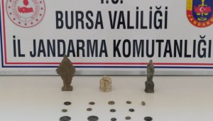 Bursa'da tarihi eser kaçakçıları suçüstü yakalandı - Bursa Haberleri