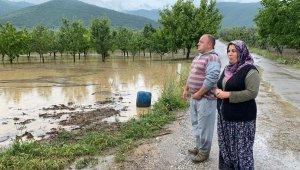 Bursa'da binlerce dönüm ekili tarla sular altında - Bursa Haberleri