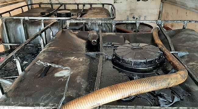 Çanakkale'de kaçak akaryakıt operasyonu